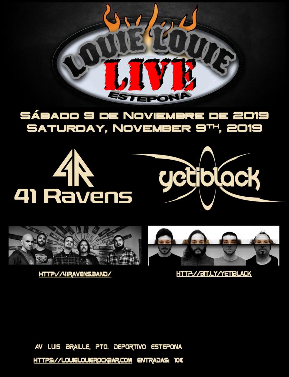 Yeti+Ravens-LouieLouie